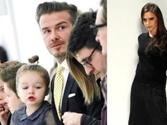 Victoria Beckham, sustinuta de toata familia, in primul rand, la New York Fashion Week
