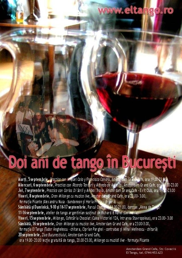 Doi ani de tango in Bucuresti
